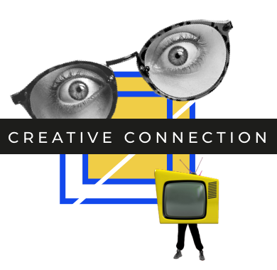 Creative connection banner icon (Transparent)